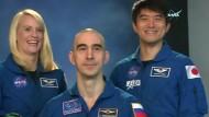 Neue ISS-Crew wird vorgestellt