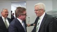 Grüne und CDU auf Koalitions-Kurs
