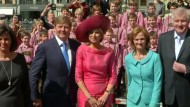 Niederländisches Königspaar trifft Horst Seehofer