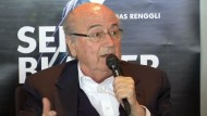 Joseph Blatter stellt Buch vor