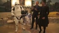 Obamas tanzen mit R2-D2 und Stormtrooper