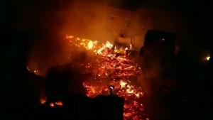 Großbrand zerstört Favela