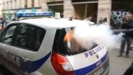 Brutaler Angriff auf Polizisten in Paris