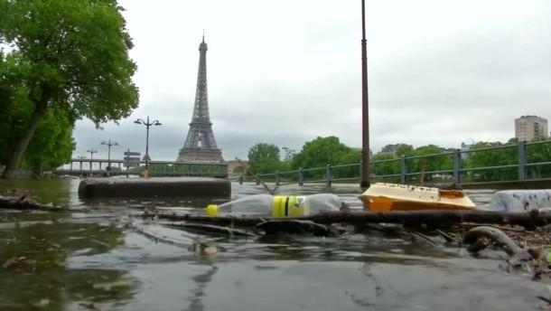 Hochwasser In Frankreich
