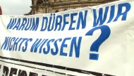 Protest gegen Bilderberg-Konferenz