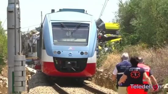 Mindestens 20 Tote bei Zugunfall in Italien