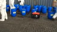 Polizei findet Kokain in pikanter Soße