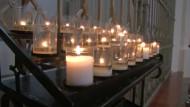 Gläubige beten für die Toten von München