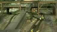 Blitz verursacht Chaos in U-Bahn-Haltestelle