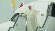 Der Papst besucht Polen