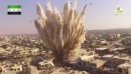 Kämpfe in Aleppo gehen mit aller Härte weiter