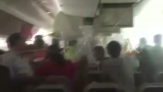 Chaos in Kabine nach Bruchlandung von Emirates-Maschine