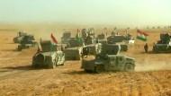 Kurden-Kämpfer rücken auf Mossul vor