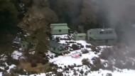 Wanderin harrt einen Monat in Berghütte aus