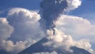 Vulkan Colima ausgebrochen