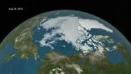 Wintereis-Tiefrekord im Nordpolarmeer