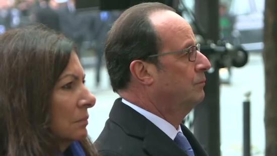 Frankreich gedenkt der Opfer der Pariser Anschläge