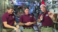 Weihnachten im Weltall