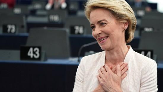 Die erste weibliche EU-Kommissionspräsidentin