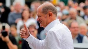 Scholz zurückhaltend bei Frage nach SPD-Mitgliederentscheid