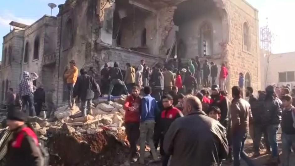 Mehrere Tote bei Detonation im syrischen Asas