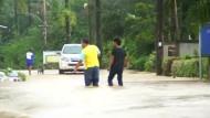 Tote bei Überschwemmungen in Thailand