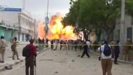 Tote bei Doppelanschlag auf Hotel in Somalia