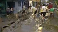 Dramatische Bilder: Überflutungen im Nordosten Limas