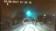 Meteor erleuchtet Illinois
