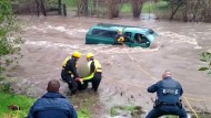 Erdrutsche und Überschwemmungen richten schwere Schäden an