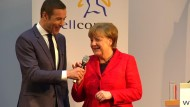 Merkel klärt ihr Verhältnis zu Spinat