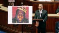 Abgeordneter ehrt Notorious B.I.G.