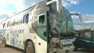 Dutzende Tote bei Busunfall