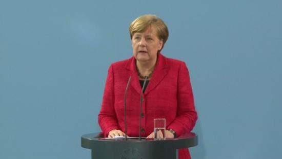 Merkel fordert Ablösung Assads
