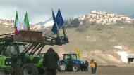Italienische Bauern kehren in Erdbebenregion zurück