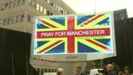 Manchester: Im Gedenken an die Opfer und Hinterbliebenen.