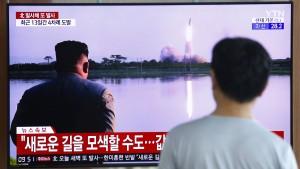 Nordkorea testet offenbar wieder Raketen