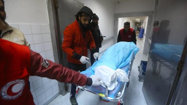 Mindestens 28 Tote bei Luftangriff auf Militärschule