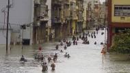 Unter Wasser: Havanna, die kubanische Hauptstadt, ist von Irma überschwemmt worden.