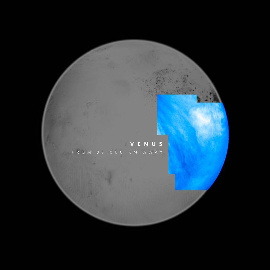 """Screenshot aus dem Video """"Stella"""" - Seife, die wie der Planet Venus erscheint."""