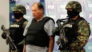 Mexikanische Marine fasst Drogenboss El Gordo