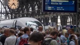 Unwetter sorgt für Einschränkungen im Zugverkehr