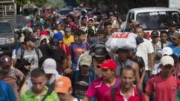 """""""Migranten-Karawane"""" in die Vereinigten Staaten"""