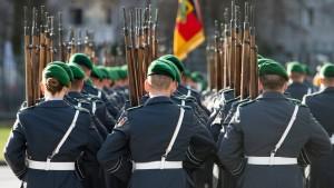 Union will Militär auch im Inneren einsetzen