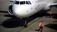Wieder unterwegs: Lufthansa-Flugzeug in Athen