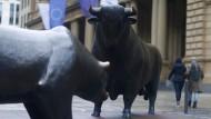 Selbstbewusst: Die Deutsche Börse AG plant die Fusion mit der London Stock Exchange.