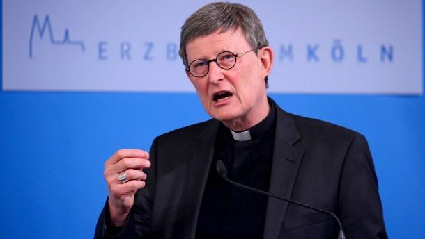 Kardinal Woelki lehnt Rücktritt ab