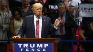 Trump auf Kuschelkurs