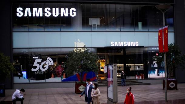 Wie Samsung vom Streit zwischen Amerika und China profitiert