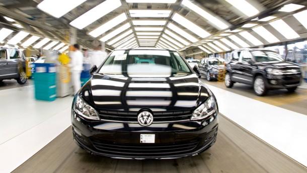 Volkswagen hängt Goethe ab